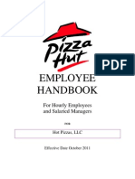 Ddo-PizzaHut Employee Handbook English