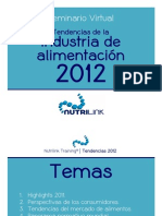 Nutrilink - Seminario Virtual Tendencias Industria Alimentos 2012