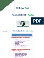 3G Drive Test Pankaj RANA
