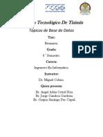 Resumen de SMBD.-jorge Gamboa,Santiago Uc, Angel Cetzal.
