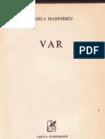 Angela Marinescu - Var (1989)