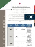 Clase de Rezistenta Standard European Env1627
