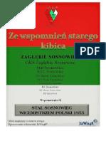 01_Stal Sosnowiec Wicemistrzem Polski_1955