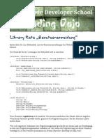 Library Kata Benutzeranmeldung