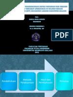 Identifikasi Pengembangan Sistem Pertanian Padi Organik_Nabilla Sinar Jannata 0910440148