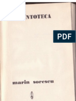 Marin Sorescu - Descîntoteca (1976)