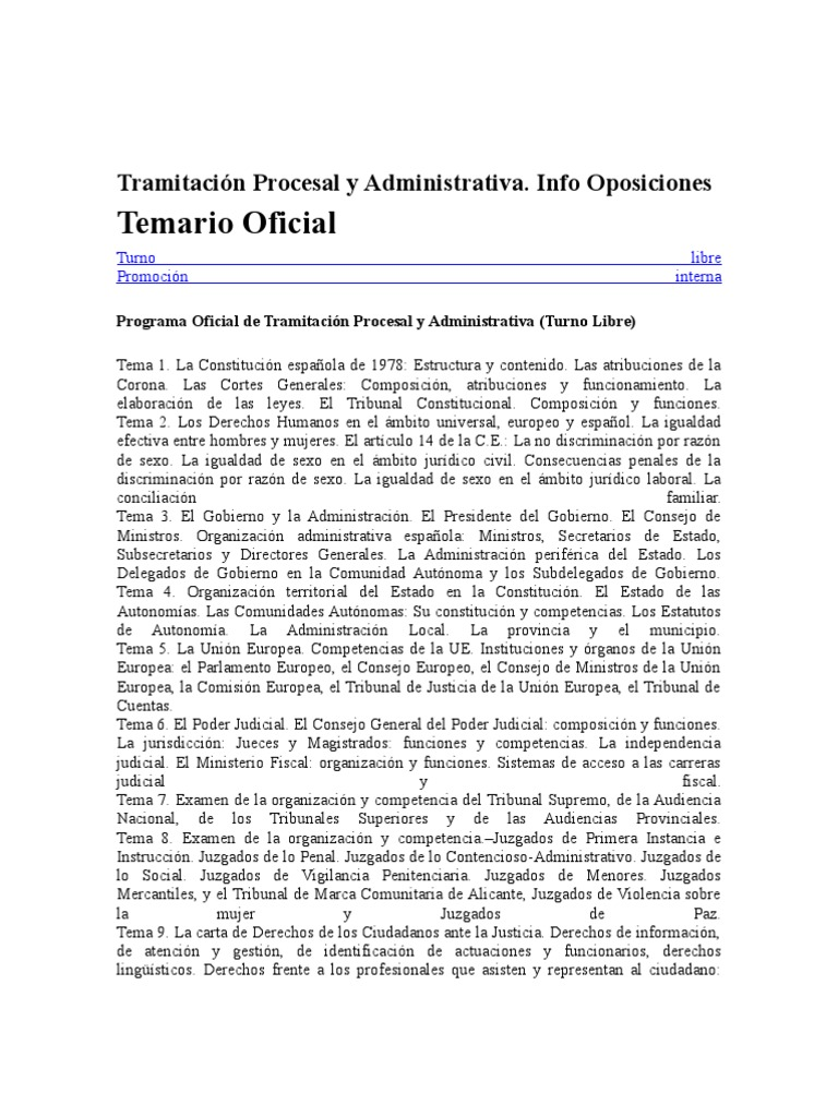 temario tramitacion procesal.rtf