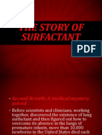 The Story of Surfactant