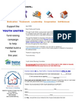 Youth United Letter
