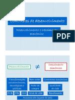 Contrastes de desenvolvimento (9.º)