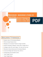 Banjaran- Banjaran Utama Di Malaysia