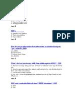 PHP Quiz