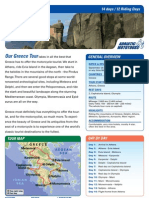 Greece Motorcycle Europe Tour
