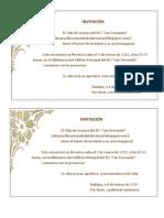 Invitación pdf