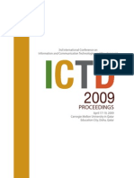 ICTD 2009 Proceedings
