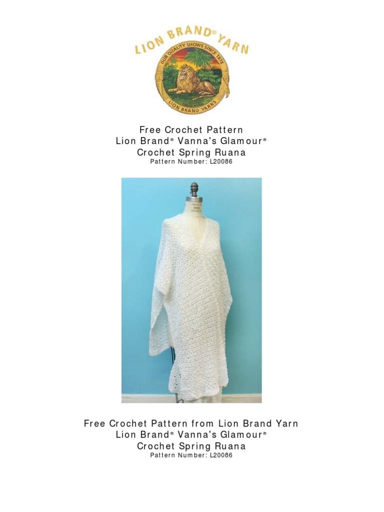 Crochet Spring Ruana | Crochet | Gauge (Knitting)