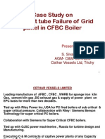 Frequent Tube Failure in Grid Panel of CFBC