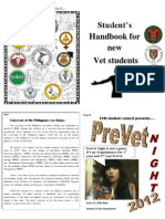 CVM New Freshman Student Handbook