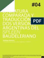 Literatura Comparada y Traducción