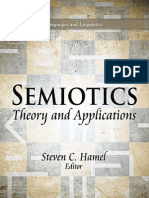 Semiotics Theory and Applications  [Edited by Steven C. Hamel. Contributors Include