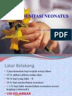 RESUSITASI NEONATUS 1