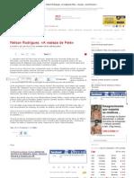 _._ Nélson Rodrigues_ «A realeza de Pelé» - Arquivo - Jornal Record _