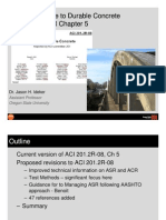 Aci 201 Guide to Durable Concrete