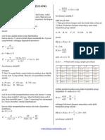 Soal-soal Bab Peluang Matematika SMA