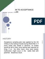 Md. Imrul Kaes - Acceptance Sampling 2013-5-19