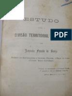 Estudo sobre a divisão territorial do Brasil