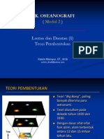 2. Daratan dan Lautan I  (Teori Pembentukan) (2).ppt