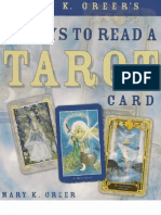 21 Ways to Read a Tarot