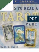 21 Ways to Read a Tarot