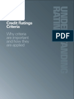 Guide to Credit Ratings Criteria