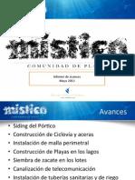 Informe Avance Mistico Mayo 13