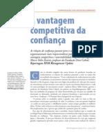 Humanização dos negócios A vantagem competitiva da confiança