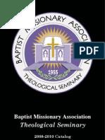 Catalog - Misionary Baptist Seminary.pdf