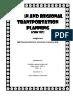 Transportation Network Planning