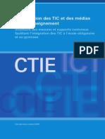 L Integration Des TIC Et Des Medias Dans l Enseignement