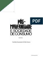 Pós-Modernidade e Sociedade de Consumo