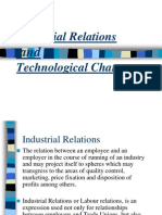 Technology and Industrial Relations in present world