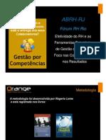 ABRH - Fórum RH Rio - palestra