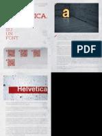 Helvetica. Il Primo Film Su Un Font