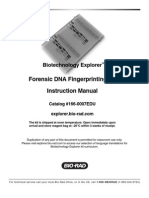 DNA Fingerprinting - Bio-Rad