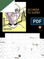 Papa Francisco Caricaturas Simpaticas