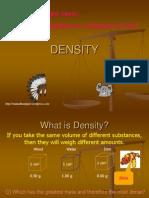 Density f