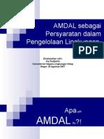 Makalah AMDAL Ary Sudijanto