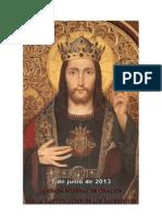 Carta de la Sagrada Congregación del Clero para la Jornada Mundial de Oración por la Santificación de los Sacerdotes 2013