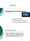 Session-Basics of Written Comm