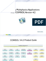COMSOL V42 Highlights Details